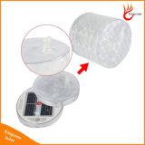 Pliable 10 LED RGB diamant Colorful gonflable solaire Lanterne Roman Solar Power Atmosphere Light pour Garden Party Décorer