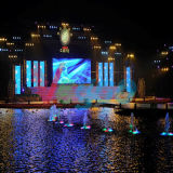 Écran visuel polychrome d'intérieur d'Afficheur LED de la location P4.8 de HD