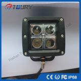 12V/24V luz campo a través auto del CREE LED de la linterna IP68 20W
