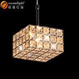 安いシャンデリア、吊り下げ式LEDライト、正方形の現代水晶シャンデリアOm55001