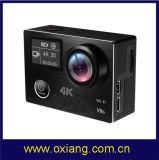 Mini câmera impermeável do esporte com controlador remoto