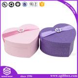 De elegante Kosmetische Oorring van de Juwelen van het Vakje van het Document van het Hart Verpakkende