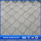 Migliore rete fissa rivestita della maglia del diamante di qualità Glavanized/PVC sulla vendita