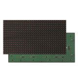 IP65는 발광 다이오드 표시 스크린 모듈을 광고하는 빨간 원본을 골라낸다