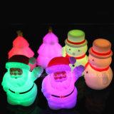 Mini lampada promozionale di notte del LED con il marchio stampata (3509)