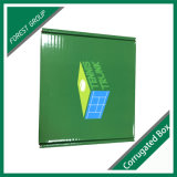 Brillante superficie de la caja de correo personalizada impresión de cartón ondulado
