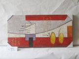 Uma pintura de suspensão interna da lona decorativa da HOME do teste padrão do chifre