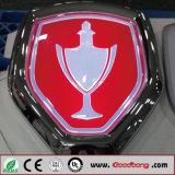 Modèle neuf annonçant le logo de véhicule de DEL