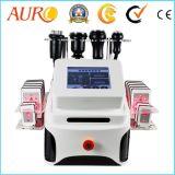 Laser ultrasónico Lipo de la cavitación del diseño de gama alta que adelgaza la máquina