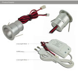 mini DEL Downlight lampe de RoHS DEL de la CE de 1W 110V 220V 15mm