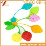 Setaccio a forma di del tè del silicone del silicone del grado di Infuser /Food del tè del silicone della fragola bella di disegno