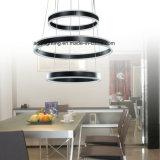 Modernes hängendes acrylsauerlicht 3 Ring-LED (AQ-66055-D400+D600+D400)