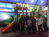 The Ball Roller Coaster Mesa de Rosário de grande escala Mesa de madeira Remope Toys