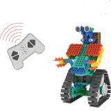 1488726-2 1戦士の戦いのロボットブロックキットリモート・コントロールRCのブロックで教育の創造的なおもちゃ137PCS -任意カラー--をセットしなさい