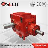 Schraubenartige abgeschrägte schraubenartige Getriebe-Hochleistungsgetriebe der rechtwinkligen Welle-B3-8