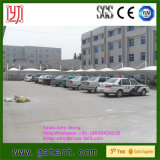 Tensile PVDF Membrane Roof Steel Structure Car Rental Tent