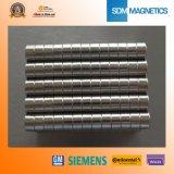 試供品ISO/Ts 16949の証明されたN52強く強力なネオジムシリンダー磁石
