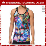 Vente en gros Summer Cool Haute qualité Sublimation Printing Tank Tops (ELTMBJ-472)