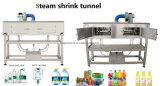 Tunnel de rétrécissement de la chaleur pour étiquette de bouteille Générateur de vapeur Étiquetage manuelle de la douille
