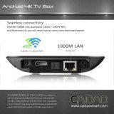 지능적인 텔레비젼 인조 인간 텔레비젼 상자 4k Amlogic S912 8 코어 Tvbox 최고 가격 2GB 렘 공기 고정되는 최고 상자