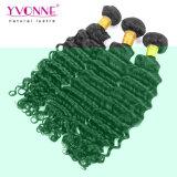 100%年のバージンの毛のブラジルの人間の毛髪のよこ糸