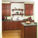 食料貯蔵室が付いている小さく光沢度の高く白いラッカー台所項目