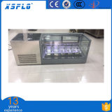 congelador contrário de 110V/60 Gelato Dipslay