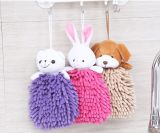 Toalla de mano animal linda encantadora de la toalla de cara de la toalla seca de mano de la toalla