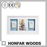 Nuevo marco de la decoración casera moderna de madera Foto
