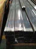 6063 профиля штрангя-прессовани покрытия порошка T5 алюминиевых для сползая окна