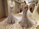 Нового замужества прибытия серые длинние платья 2017 вечера