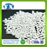 PP/PVC/ABS/パソコン/PA/ペット/Nonwoven布またはフィルムのためのPEの微粒の樹脂白いMasterbatch