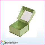 Contenitore di regalo dei monili della visualizzazione con la finestra del PVC (xc-320)