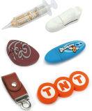 Pen Drive personalizado, Unidade Flash USB em PVC personalizado USB personalizados