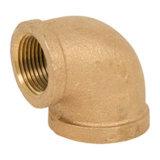 O bronze 125# rosqueou o cotovelo de 45 graus