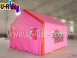Rosafarbenes aufblasbares Kabine-Zelt für Kinder