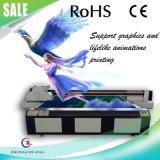 Impressora planal UV, gráficos de suporte e impressão animada realista