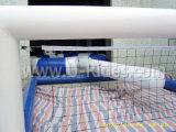 corte de voleibol inflável do PVC da espessura de 0.9mm para a praia