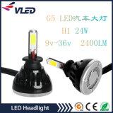 ジープのヘッドライトLED H1のためのほとんどの販売の製品の自動照明装置G5 40W 4000lmの極度の明るい