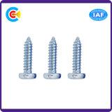 Carbonio Steel/4.8/8.8/10.9 galvanizzato/vite Self-Tapping della testa della vaschetta fiore dello zinco per mobilia/cucina/armadio