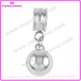 Inneres/Round Shape Cremation Charms Necklace Putting Ashes innen