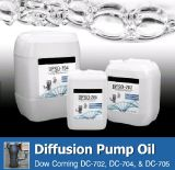 Huile de pompe à diffusion de silicone Dfso705 (équivalent à Dow Corning DC705)