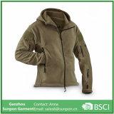 겨울 외투 헤비급 두건이 있는 양털 재킷