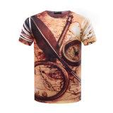 T-shirt fait sur commande d'impression du Mens 3D