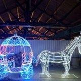 Motif de décoration extérieure LED étanche grand Fattonny la Lumière de Noël