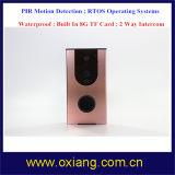 IOS inteligente del timbre 720p APP del control remoto del teléfono móvil de la alta calidad, androide, intercomunicador WiFi del timbre
