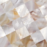 Frischwassershell-Natur-Farben-Mosaik-Fliese