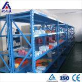 Warhouse Longspan de acero estantes para bandeja de plástico