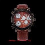 Het speciale het Ontwerpen Knappe Horloge van de Beweging van het Kwarts voor Mensen Fs468