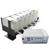 Système d'alimentation en encre continue Roland CISS 6 barils d'encre avec 6 cartouches d'encre